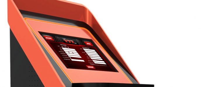 Casino & Sportsbook Touch Terminal Interface design